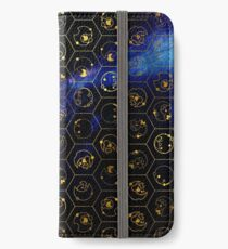 Time Lord Alphabet (blue) iPhone Wallet/Case/Skin