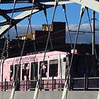Pink Tram, Sheffield, Yorkshire by wiggyofipswich
