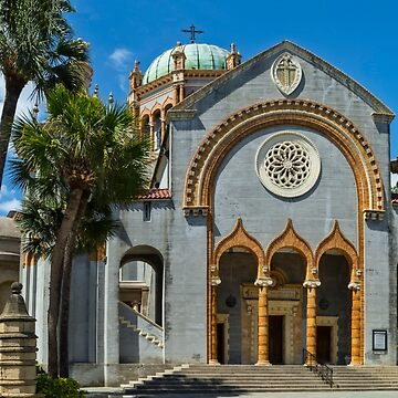 Flagler Memorial Presbyterian Church, St Augustine by KayBrewer