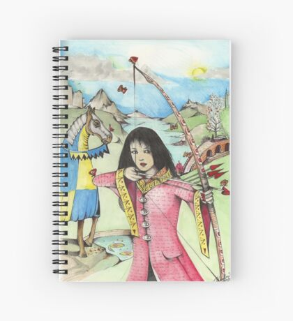 The Arrows Of Love Spiral Notebook