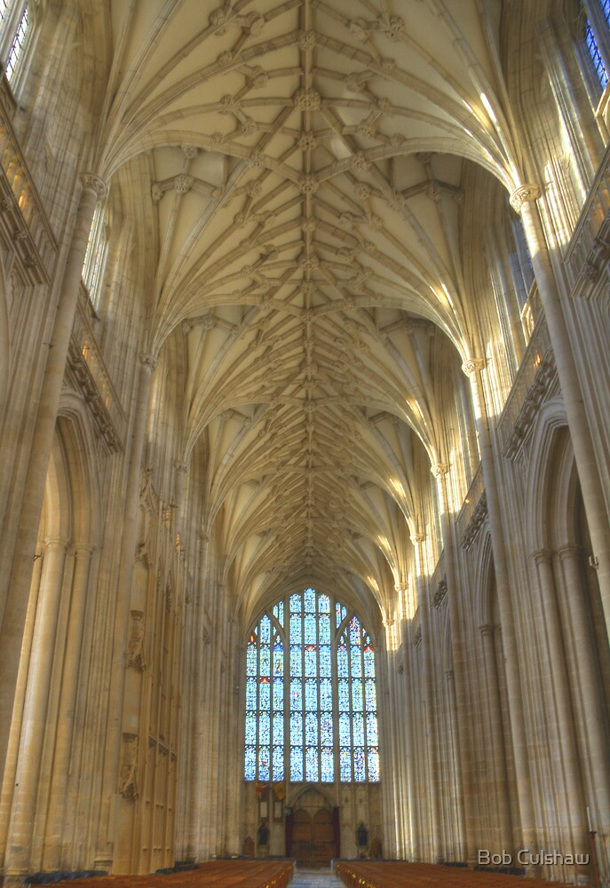 The Nave and West Window by Bob Culshaw