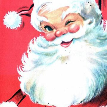 Santa winking by Geekimpact