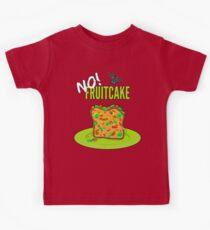 No Christmas Fruitcake For Me Kids Tee