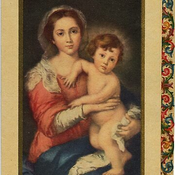 Mary and Baby Jesus by Geekimpact