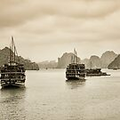 Halong Bay  by Kasia-D