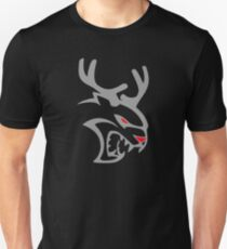Reindeer Christmas Hellcat Unisex T-Shirt