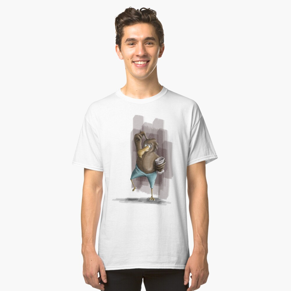 Confused bird - tee Classic T-Shirt