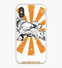Serenity Retro Japanese iPhone Case