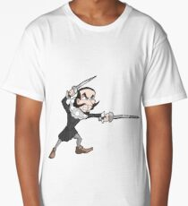 Shakespeare - Rapier and Dagger Long T-Shirt