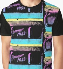 dae51cb0aec Summer of  88 - VHS Home Video Graphic T-Shirt