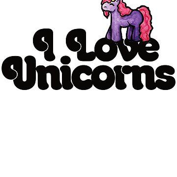 I love unicorns by Boogiemonst