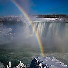 falls misty rainbow - 2 by Perggals© - Stacey Turner