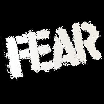 Fear - 70s american punk logo by tomastich85