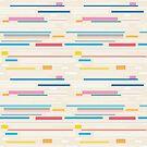 Morse Code Pastel Pattern by tobiasfonseca