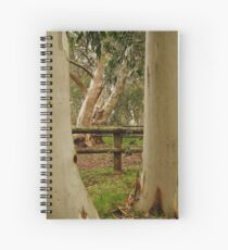 Old Cattle Yard,Davies High Plains.Victorian High Country Spiral Notebook