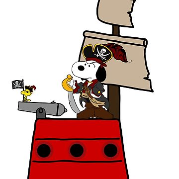 Snoopy the Pirate by r6568