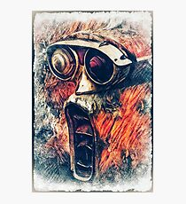 Screaming Tail Light Photographic Print