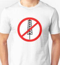 Anti-Fracking Symbol Unisex T-Shirt