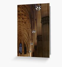 St. Patrick's Cathedral, NYC Greeting Card
