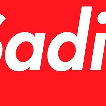 Hello My Name Is Sadie Name Tag by efomylod