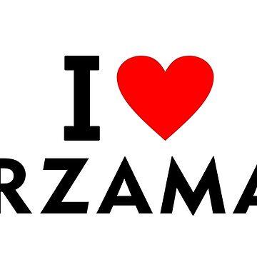 I love Arzamas city by tony4urban