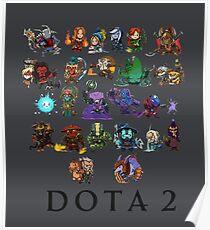 DOTA 2 - Chibi Poster