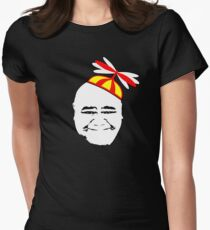Kamekona's Helicopter Tours - Head & Hat Women's Fitted T-Shirt