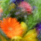 Abstract Floral Arrangements by maf01