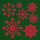 «Copo de nieve de navidad» de Ares286