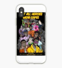 Not All Heros Wear Capes iPhone Case