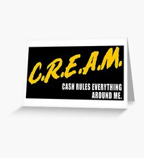 CREAM_dare Greeting Card
