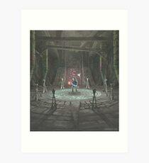The Shadow Temple Art Print