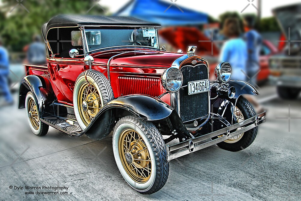Classic Auto Series # 20 by Dyle Warren