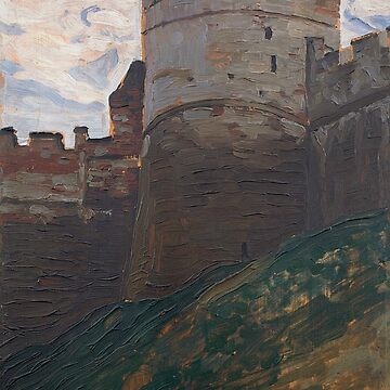 The Fortress Tower. Nizhny Novgorod. From the Series of Architectural Sketches by Nicholas Roerich by classicartcache