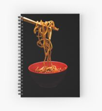 Chinese Noodles  Spiral Notebook