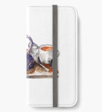 Ready for Tea  iPhone Wallet/Case/Skin