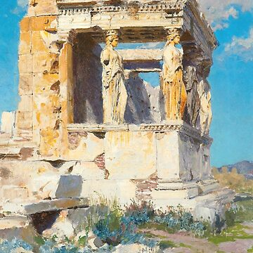 The Porch of Caryatids by Vasily Polenov by classicartcache