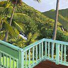 "Matty Dreadlocks ""Paintings of Puerto Rico"" by Matthew Campbell"