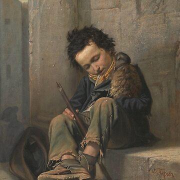 Savoyard by Vasily Perov by classicartcache
