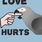 Love Hurts African Grey Parrot Biting by einsteinparrot