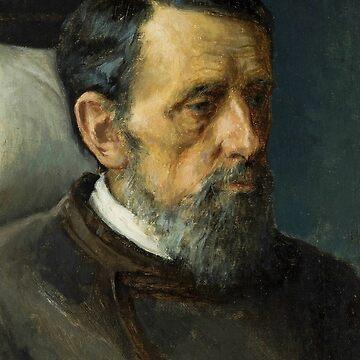 Portrait of a Man by Ivan Kramskoy by classicartcache