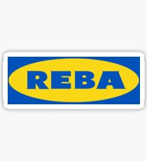 Phish Reba Apparel and Accessories Sticker
