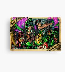 Xmas on Spicy Island Canvas Print