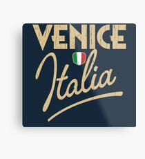 Venice Italia Metal Print