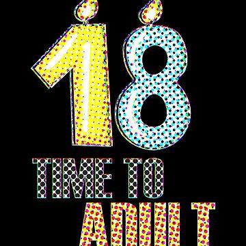 18 Time To Adult Spots by KaylinArt