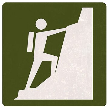 Outdoor Recreational Sign Rock Climbing by surgedesigns