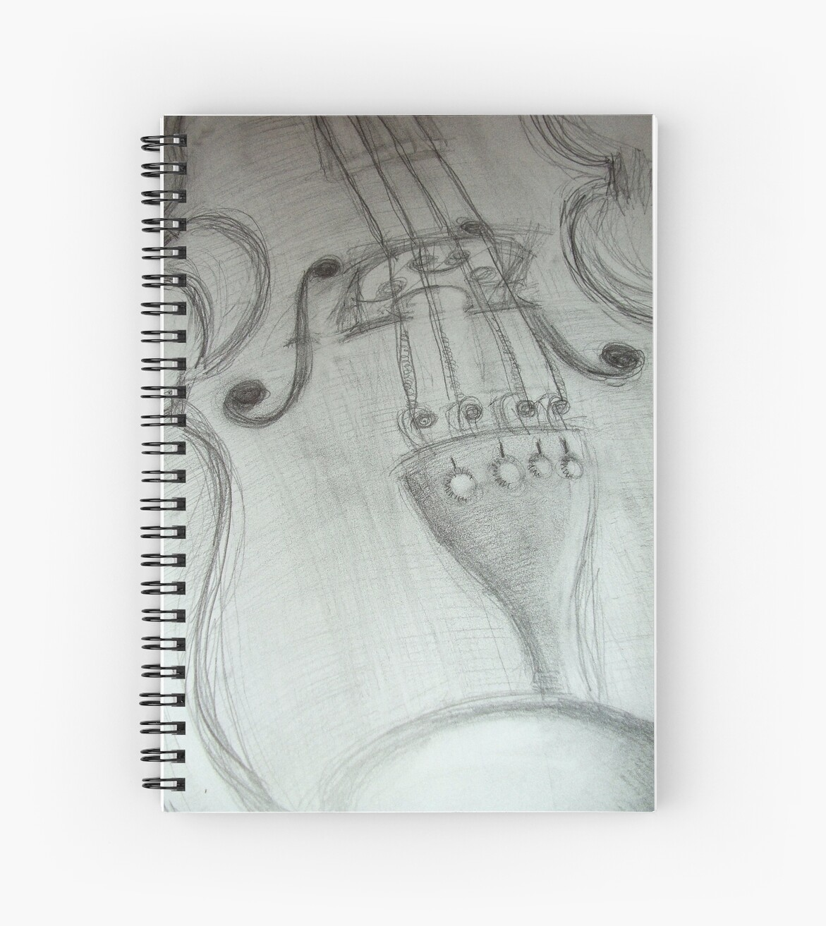 Violin pencil sketch 2009 patricia vannucci