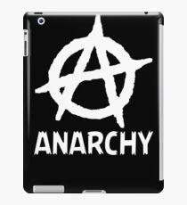 Anarchy Funny TShirt Epic T-shirt Humor Tees Cool Tee iPad Case/Skin