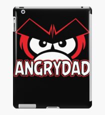 Angry Dad Funny TShirt Epic T-shirt Humor Tees Cool Tee iPad Case/Skin