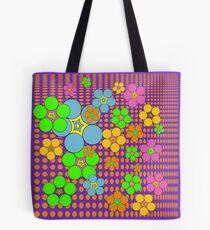 Mind Power Flower Tote Bag